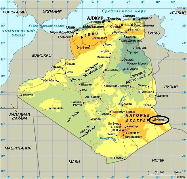 Музыка песчаных дюн или Алжирская Сахара осенью 2017 года.
