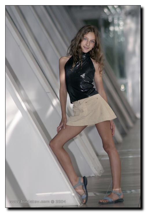 фото юные модели