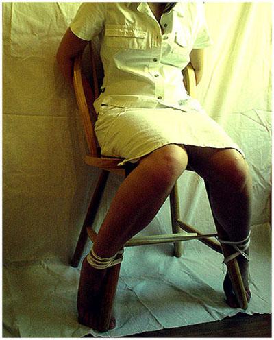 Связали в гинекологическом кресле