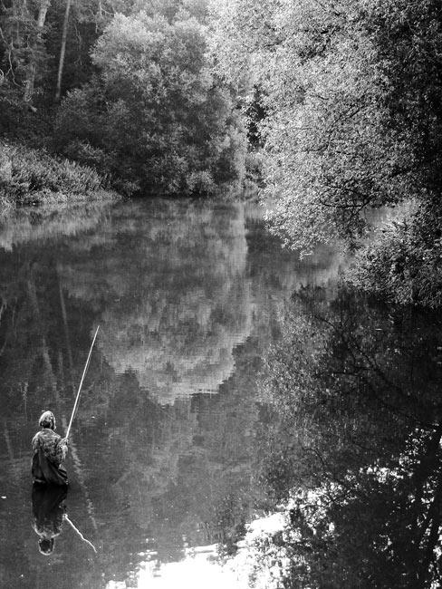 рыбалка на кладбище