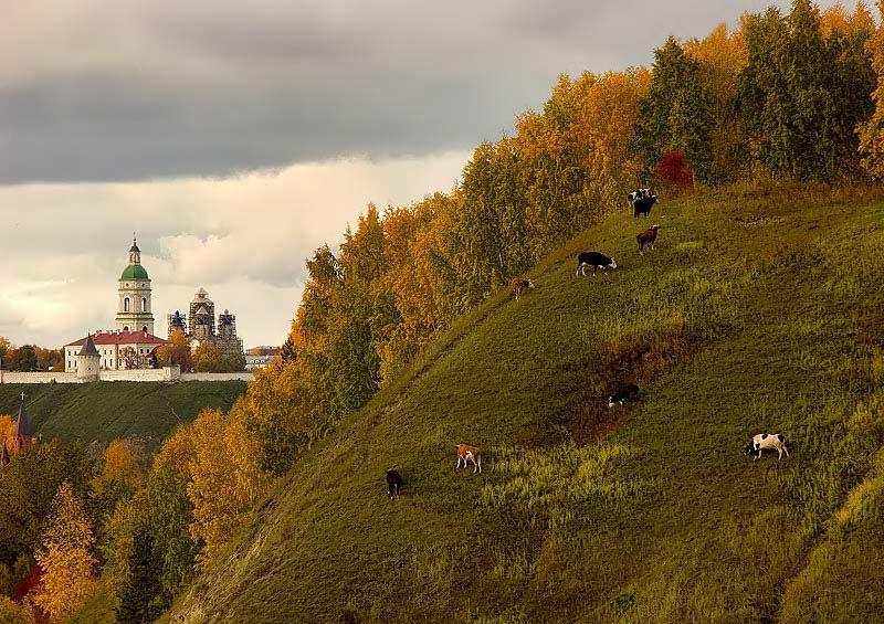 Тобольск пейзажи фото