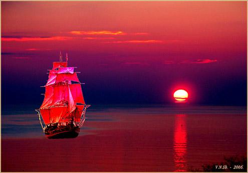 птичий шум шелковая лента дружеский совет парусная лодка