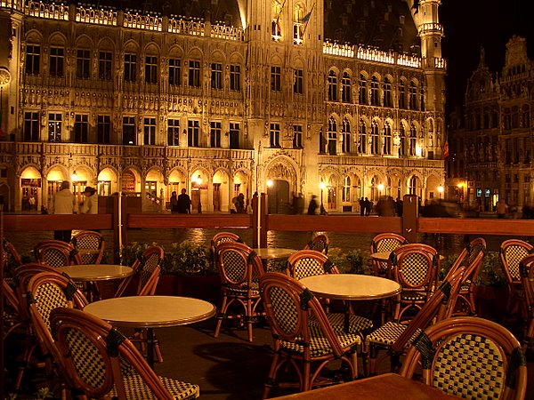 Кафе на Grand Place 536699
