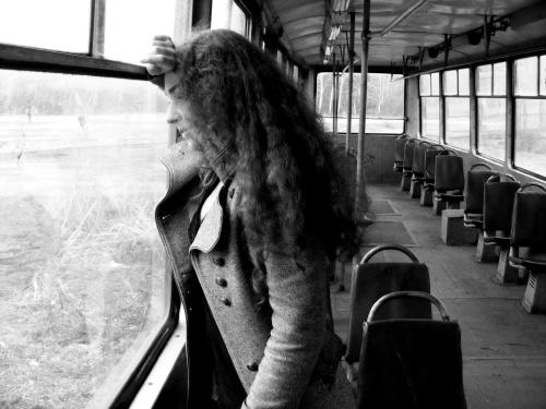 Видео голая в трамвае
