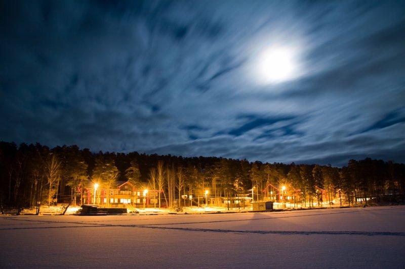 оживает, распускаются фото ночной миасс зимой способны скрыть