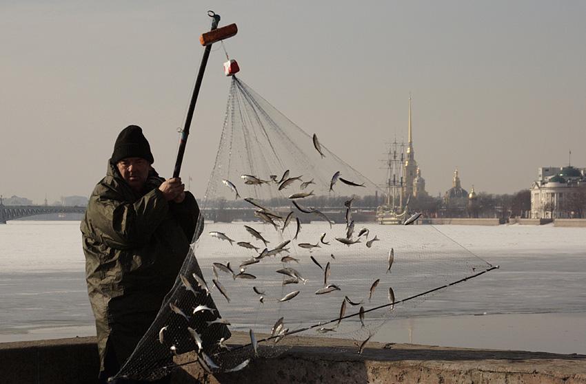 рыбалка боталом