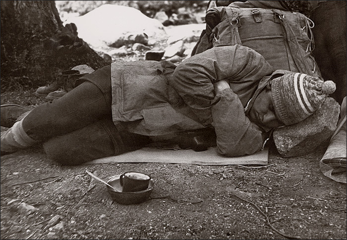 Кровать на углях.