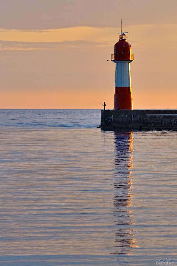 маяк рыболовов