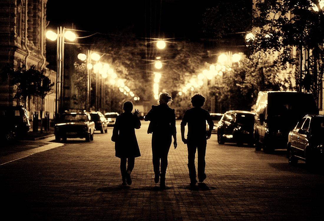 Ночные картинки с людьми