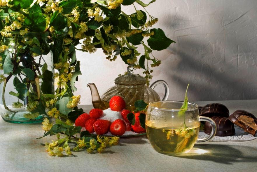фото натюрморт чай липовый освоению технологии