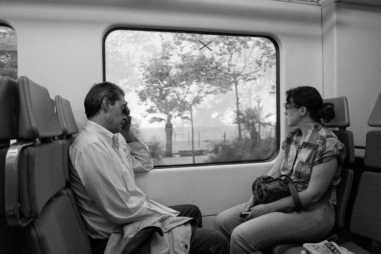 Знакомство в купе поезда