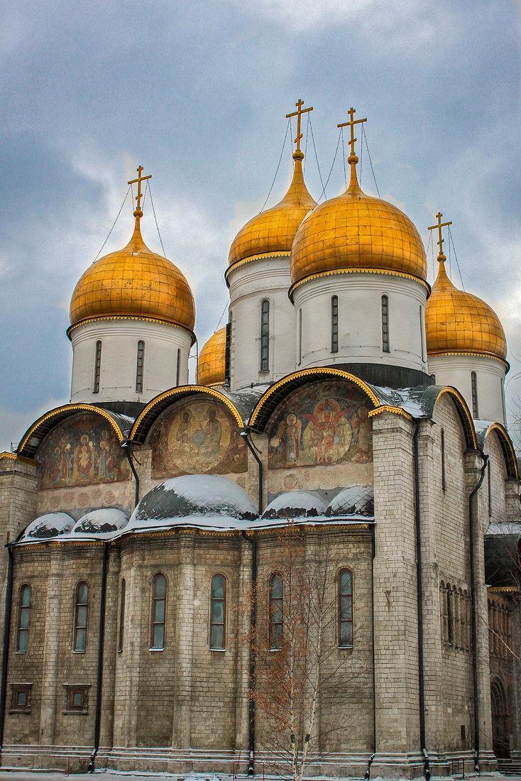 дома следует успенский собор в москве картинки том
