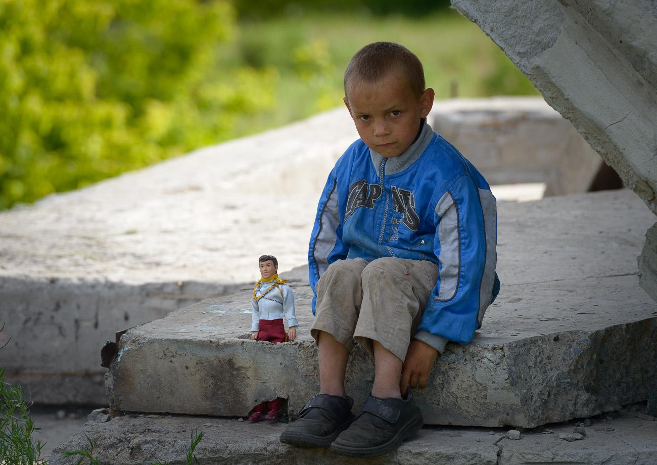 Бездомные дети в картинках