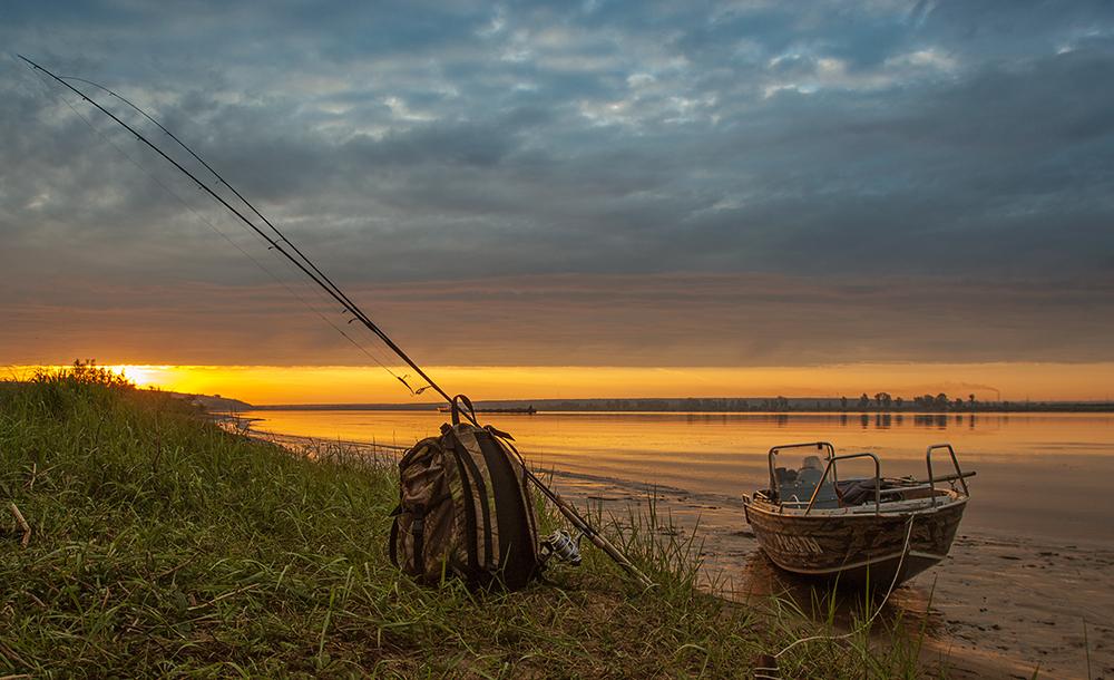 рано утром рыболовный сайт