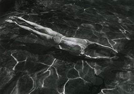 Underwater Swimmer, Esztergom, Hungary, 1917 © The Estate of Andre Kertesz/Silverstein Photography