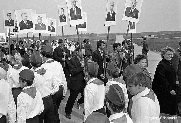 ©Валерий Щеколдин. «Дубосеково, Московская обл. 8 мая, 1984»