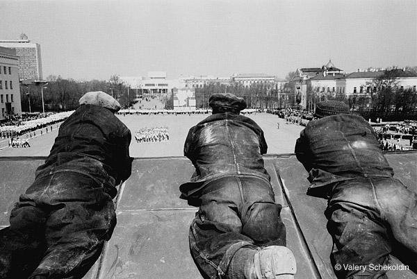 ©Валерий Щеколдин. «Ульяновск. День пионерской организации. 19 мая, 1975»