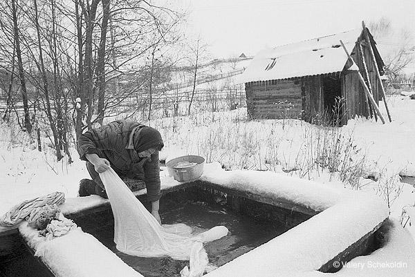 ©Валерий Щеколдин. «п. Осока, Ульяновская область. 1998»