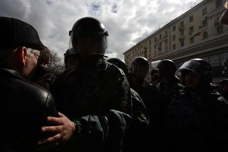 © Михаил Галустов / Agency.Photographer.ru. Марш несогласных, Москва, 14 апреля 2007