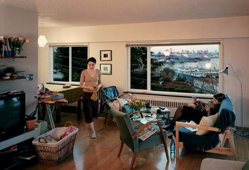 ©Джефф Уолл. «Вид из квартиры, 2004-2005»