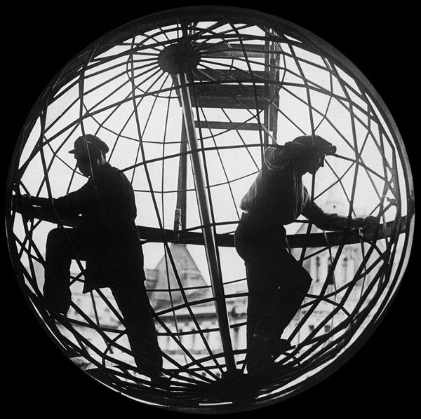 ©Аркадий Шайхет. «Строительство МТС, 1928»