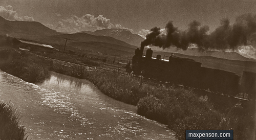 ©Макс Пенсон  (1893-1959). «Паровоз»