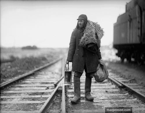 ©Макс Пенсон  (1893-1959). «Железнодорожник»