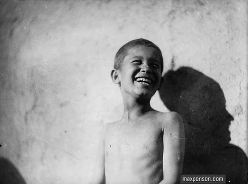 ©Макс Пенсон  (1893-1959). «Смеющийся мальчик»