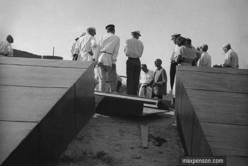©Макс Пенсон  (1893-1959). «Группа инженеров на строительстве»