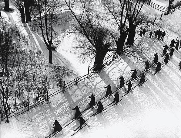 ©Аркадий Шайхет. «Красноармейцы-лыжники в походе»