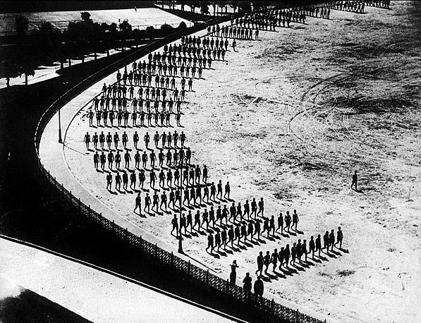 ©Аркадий Шайхет. «Физкультурники, 1927»