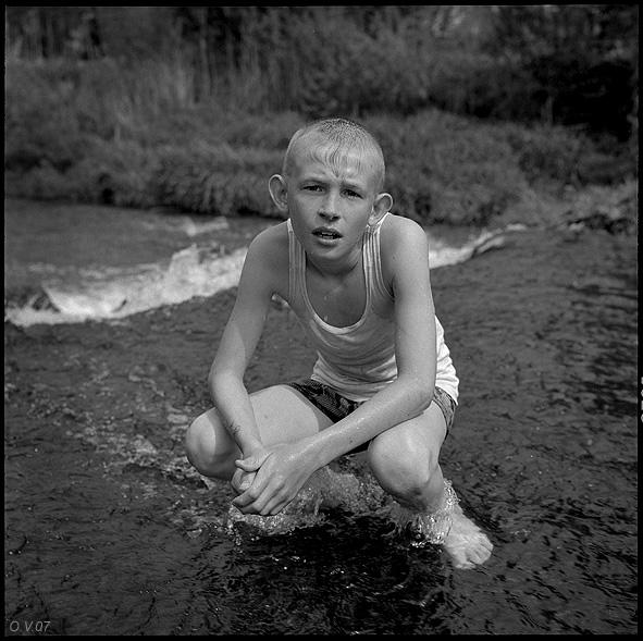 ©Олег Виденин. «Плотина. Брянская область. 2007 год»