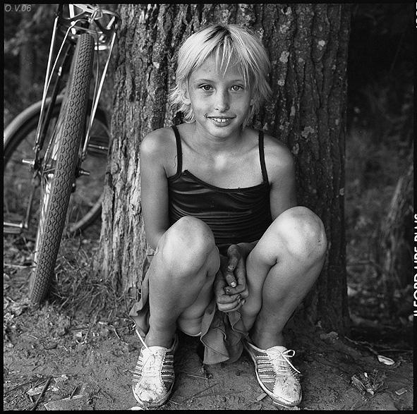 ©Олег Виденин. «Милена. Брянская область. 2006 год»