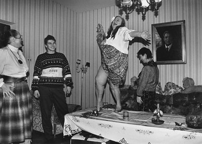 "Юрий Рыбчинский ""Галина Брежнева. Домашний праздник. Москва"", 1992"