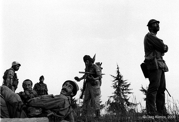 ©Олег Климов. «Перед штурмом Сухуми. Абхазия, 1993»