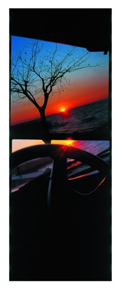 ©Сирио Томмазоли Из серии «Ожидание». Ожидание 11, 2002 Пигментный отпечаток на поливинилхлориде