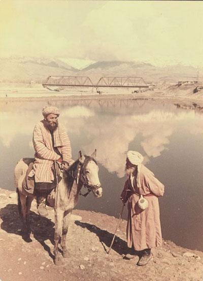 О. Кнорринг На реке Кафиринган. Таджикская ССР. 1950-е
