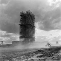 © Марсель Готеро Строительство здания Национального конгресса. Ок. 1958-1960 Собрание Moreira Salles Institute, Бразилия