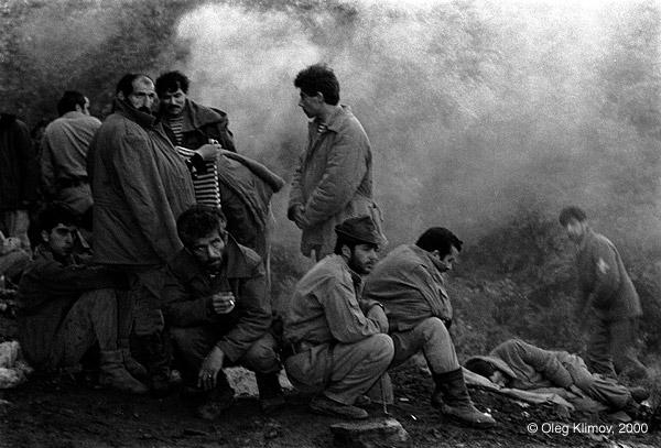 ©Олег Климов. «Утро армянских солдат. Карабах, 1990»