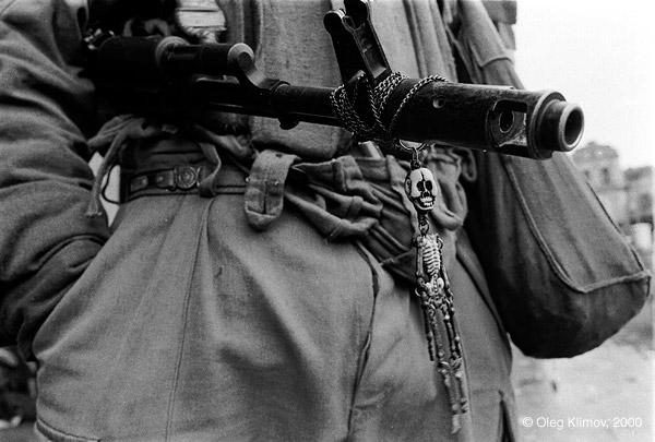 ©Олег Климов. «Абхазский солдат. 1993»