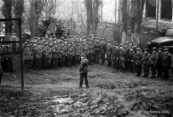 ©Олег Климов. «Российские солдаты. Грозный, 1997»