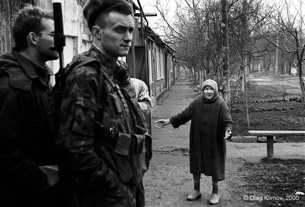 ©Олег Климов. «Военная операция. Грозный, 1999»