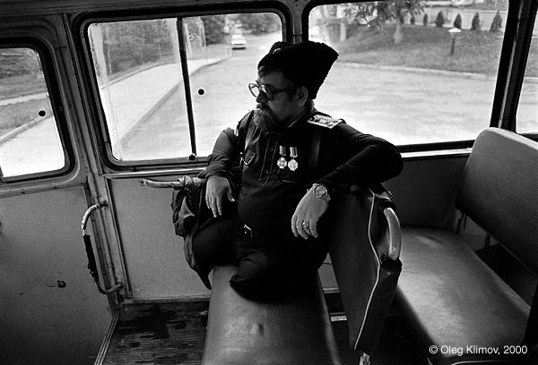 ©Олег Климов. «Солдат, потерявший ноги на афганской войне.<br> Пятигорск, 1996»