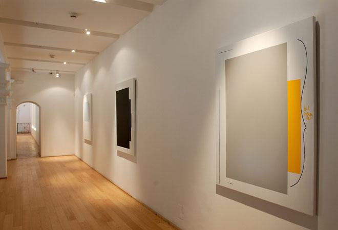 Экспозиция Хольцер в галерее Дилля