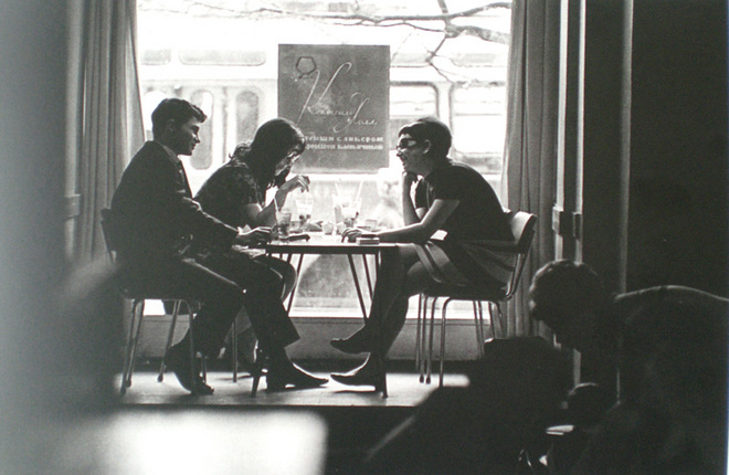 Андрей Князев. Кафе «Молодежное». 1970-е