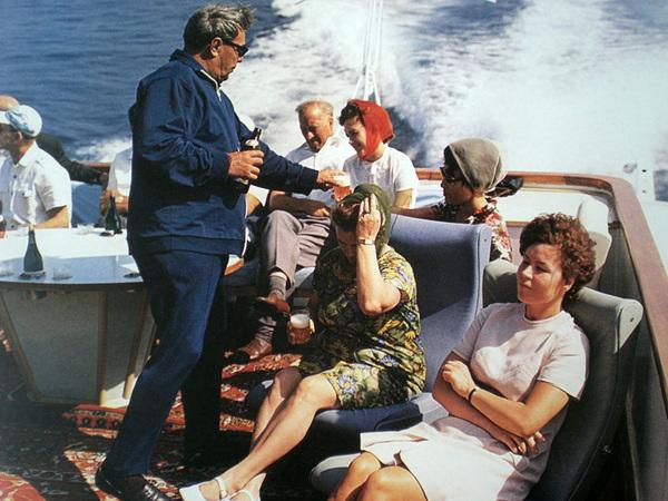 Владимир Мусаэльян. Брежнев на отдыхе в Крыму. 1973