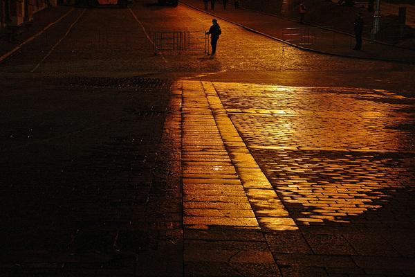 ©Людмила Зинченко. «Красная площадь. Москва, Mай 2007 (11 pm)»
