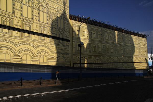 ©Людмила Зинченко. «Красная площадь. Москва, 2007»