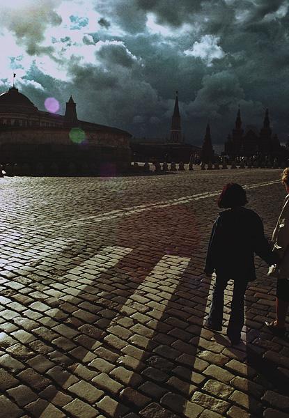 ©Людмила Зинченко. «Красная площадь. Москва, 2002»