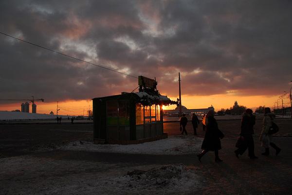 ©Людмила Зинченко. «Поклонная гора. Москва, 2007»